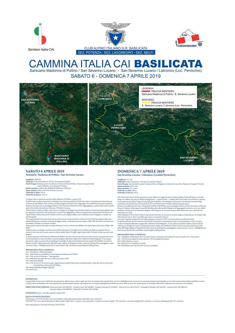 cammina italia CAI Basilicata